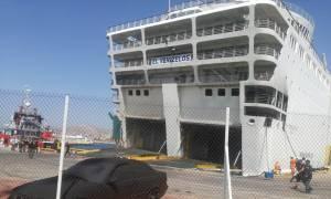 Εντολή εκκένωσης στο «Ελευθέριος Βενιζέλος» - Το πλοίο πήρε μεγάλη κλίση