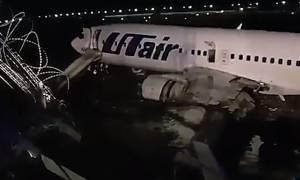 Τρόμος για 173 επιβάτες αεροπλάνου στο Σότσι - Σώθηκαν από θαύμα (vid)