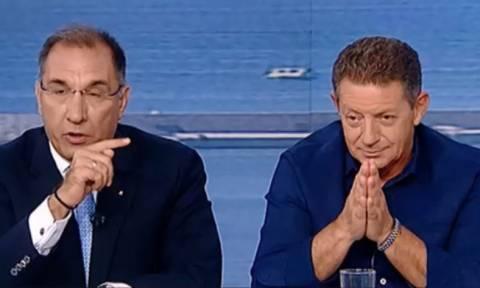 Άγριος καβγάς - Πετρόπουλος: «Είσαι χουντικός» - Καμμένος: «Άντε ρε παλιο-Στάλιν!»