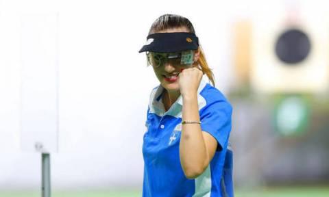 Гречанка Анна Коракаки завоевала золото ЧМ в стрельбе из пневматического пистолета с 10м