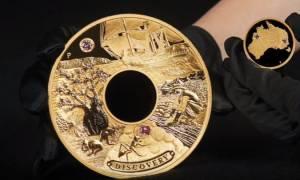 Χρυσό νόμισμα αξίας 1,5 εκατομμυρίου ευρώ κόβει το Νομισματοκοπείο της Αυστραλίας! (vid)