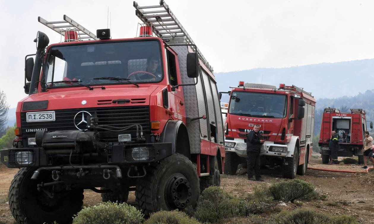 Προσοχή! Πολύ υψηλός ο κίνδυνος πυρκαγιάς σε πέντε Περιφέρειες την Τετάρτη (5/9)