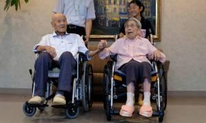 Ιαπωνία: Zευγάρι αποκαλύπτει το μυστικό ενός γάμου... 80 ετών!