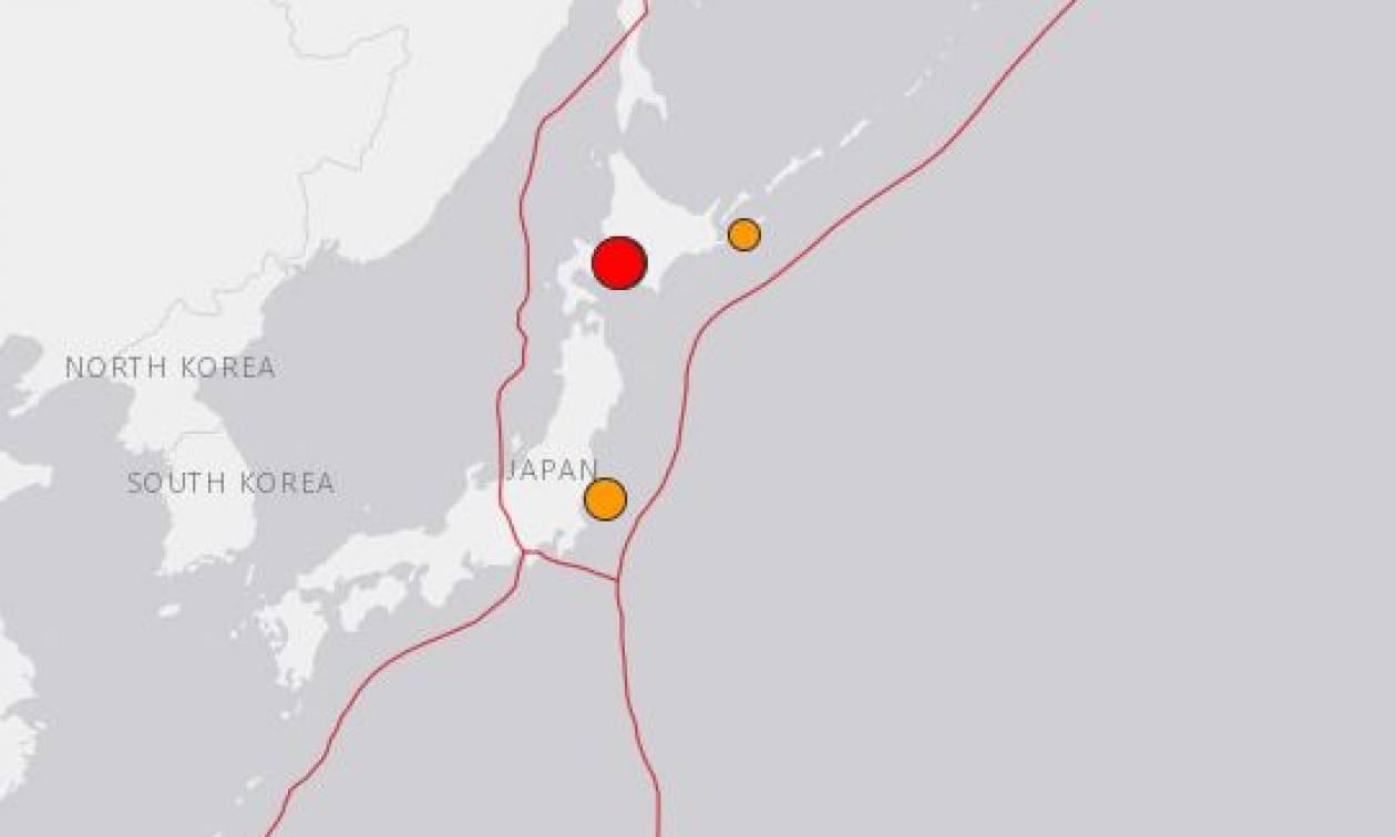 Ισχυρός σεισμός 7 Ρίχτερ ταρακούνησε την Ιαπωνία (vid)