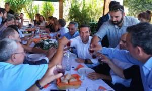 Η λιχουδιά που εντυπωσίασε τον Τσίπρα στα Χανιά (pics)