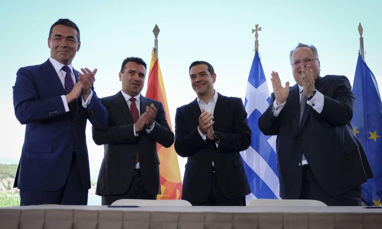 Νέα δημοσκόπηση στα Σκόπια: Συντριπτικό… «ναι» στη συμφωνία των Πρεσπών