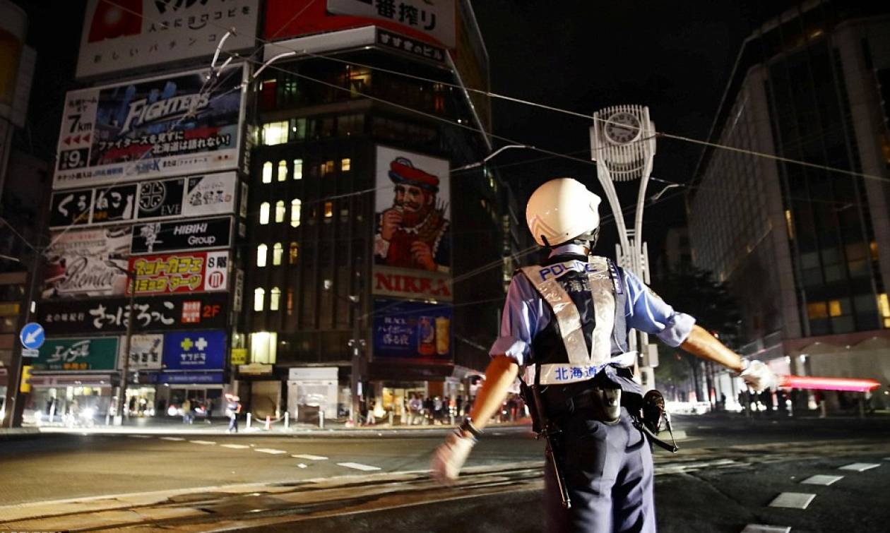 Ιαπωνία: Εννέα νεκροί και δεκάδες αγνοούμενοι μετά το φονικό σεισμό των 6,6 Ρίχτερ