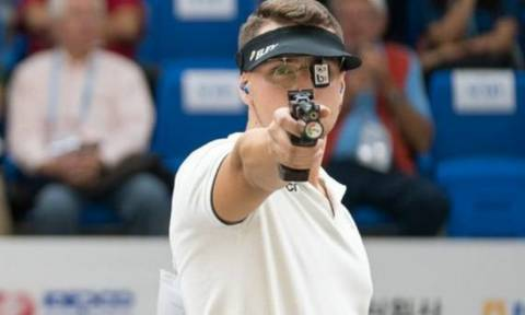 Παγκόσμιο πρωτάθλημα σκοποβολής: Τέταρτος ο Κορακάκης στον κόσμο