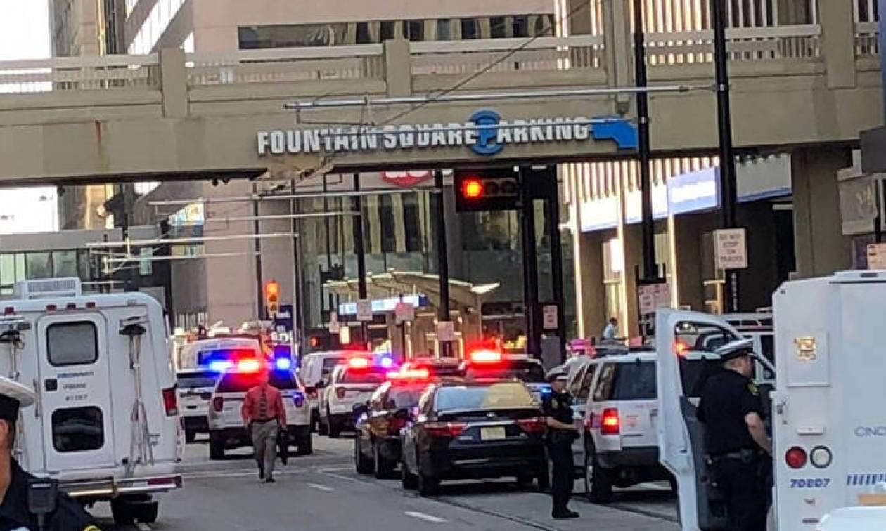 ΗΠΑ: Τέσσερις νεκροί από πυροβολισμούς σε τράπεζα στο Σινσινάτι (vids)