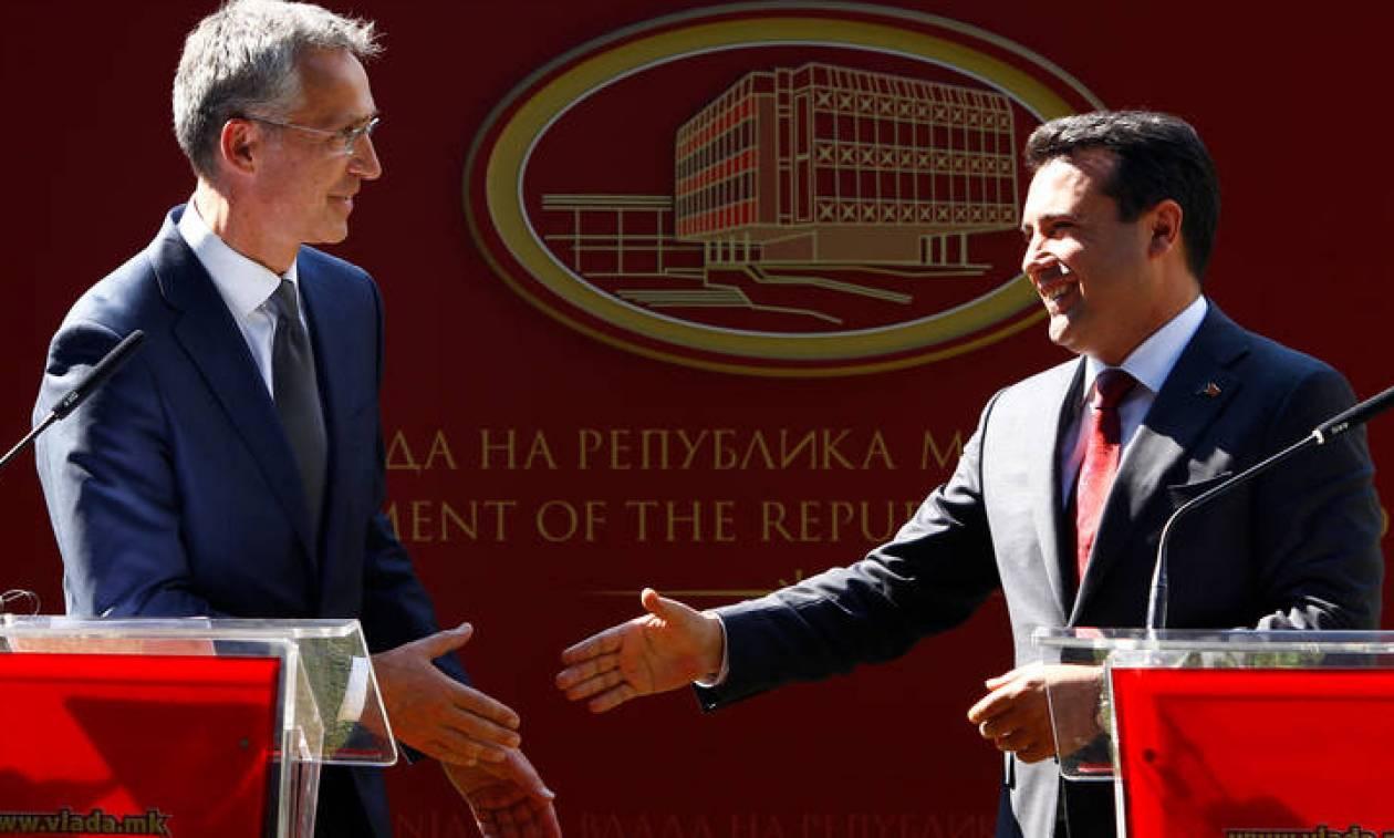 Στόλτενμπεργκ σε Σκοπιανούς: Ο μόνος δρόμος για ΝΑΤΟ και ΕΕ είναι μέσα από τις… Πρέσπες