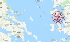 Σεισμός στη Μυτιλήνη - Αισθητός σε αρκετές περιοχές (pics)