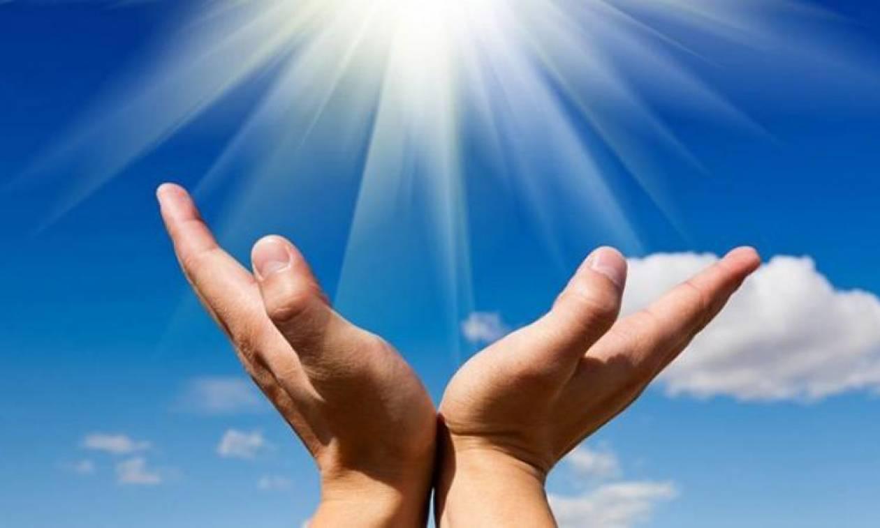 «Είδαμε τον Άγιο με τα μάτια μας να μας ευλογεί»