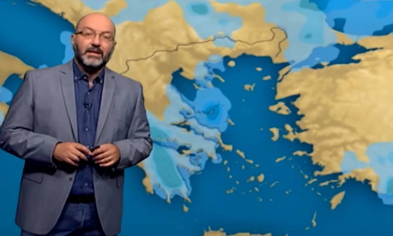 Προσοχή! Ερχονται βροχές... Η ανάλυση του Σάκη Αρναούτογλου για την αλλαγή του καιρού (video)