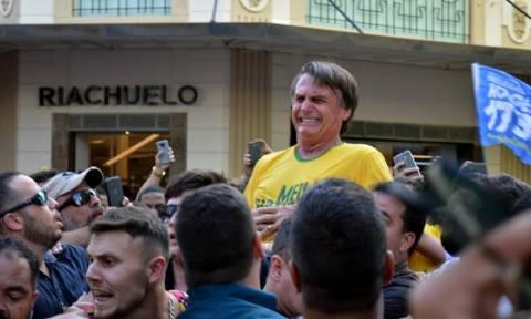 Jair Bolsonaro, Brazil's presidential front-runner, stabbed at rally