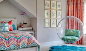 Είκοσι μοντέρνες ιδέες διακόσμησης για εφηβικά κοριτσίστικα δωμάτια (pics)