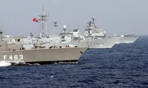 Συναγερμός σε Ελλάδα - Κύπρο: Τουρκικά πολεμικά πλοία σε απόσταση αναπνοής από την κυπριακή ΑΟΖ