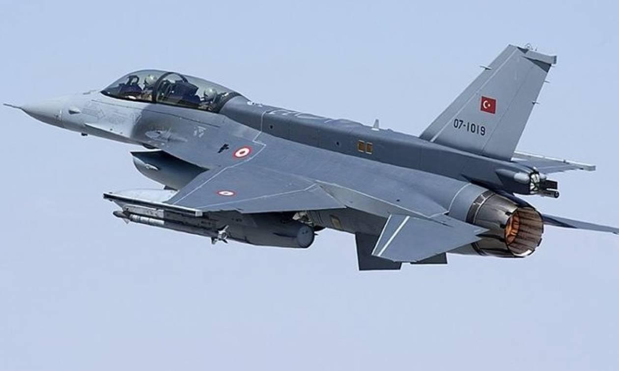 «Σουρωτήρι» ξανά το Αιγαίο: Μπαράζ παραβιάσεων από τουρκικά μαχητικά αεροσκάφη