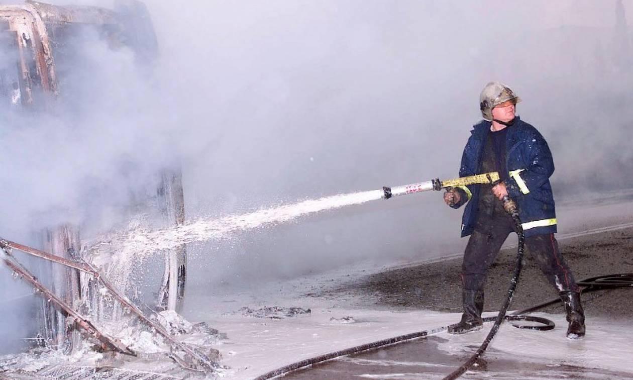 Τραγωδία στην Καβάλα: Έπεσε σε χαράδρα με το αυτοκίνητό της και κάηκε ζωντανή