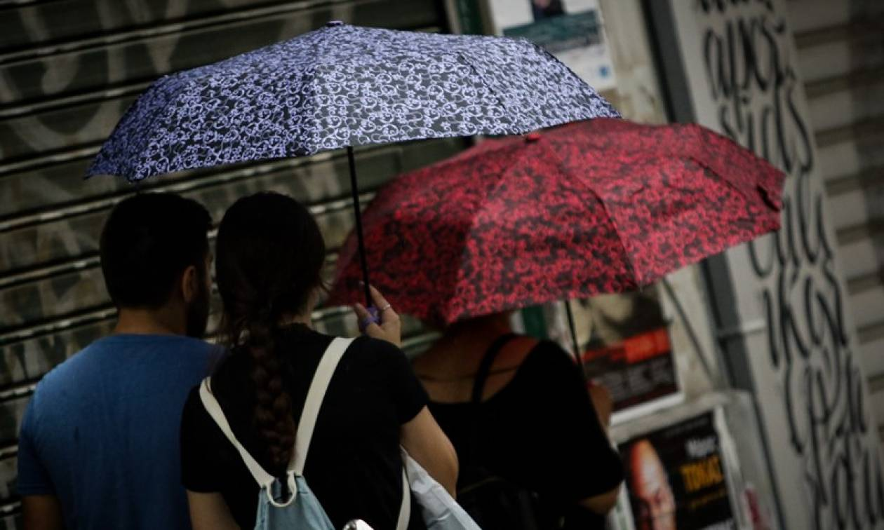 Καιρός: Βροχές και καταιγίδες την Κυριακή (09/09) - Πέφτει κι άλλο η θερμοκρασία