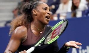 Επεισοδιακός ο τελικός του US Open: Η Γουίλιαμς καταγγέλλει τον διαιτητή για σεξισμό