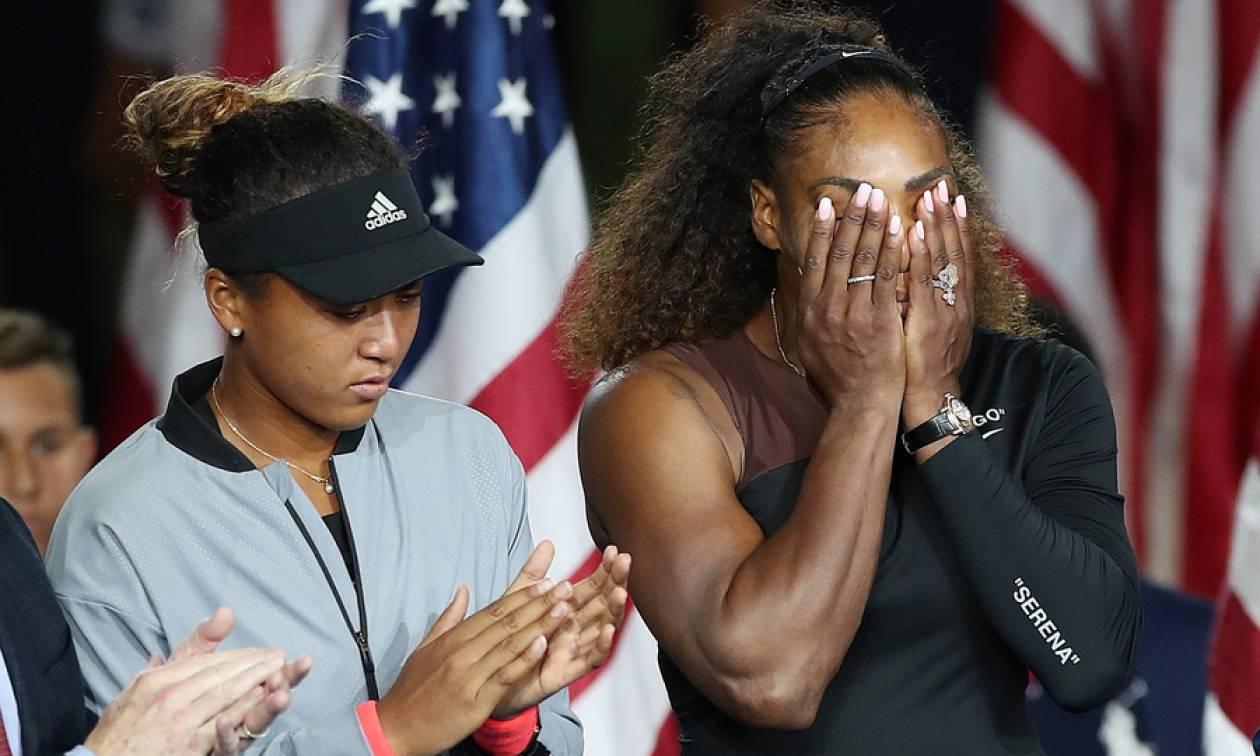 US Open: Οι 1.000 + 1 εκφράσεις της Σερένα Γουίλιαμς στον τελικό της... οργής! (pics)