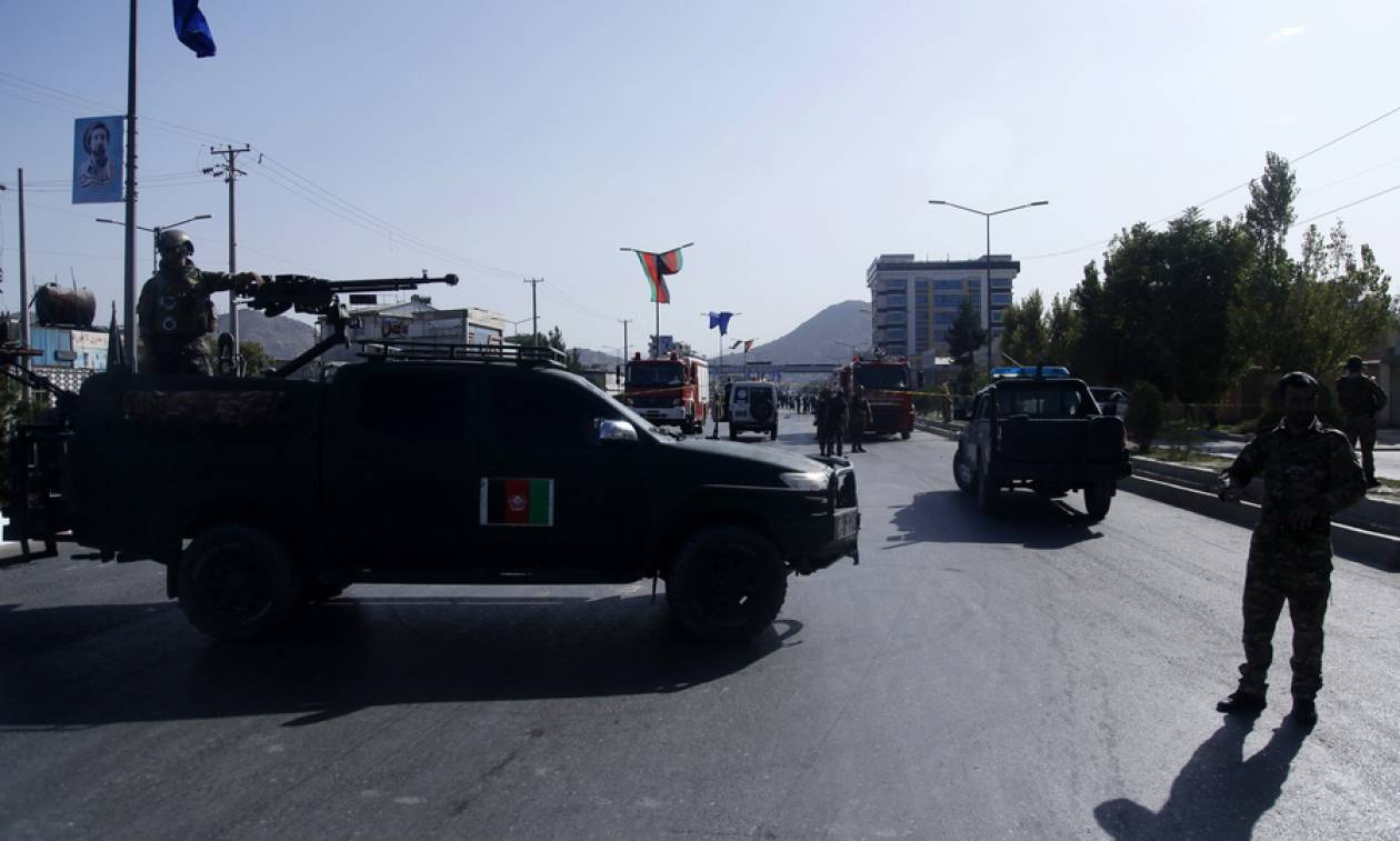 Αφγανιστάν: Επίθεση αυτοκτονίας στην Καμπούλ (vid)