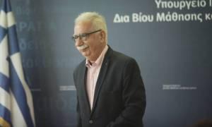 Γαβρόγλου: Τα κενά έχουν καλυφθεί, τα βιβλία είναι στη θέση τους