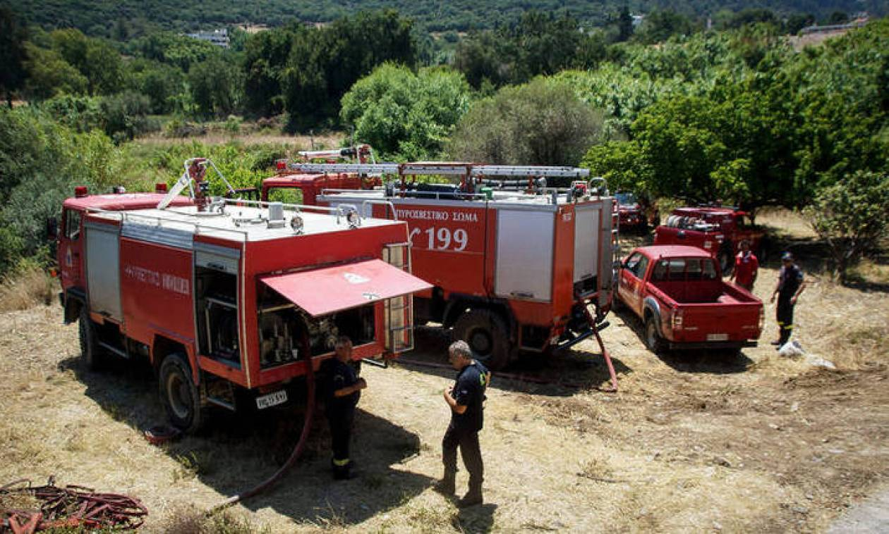 Yψηλός κίνδυνος πυρκαγιάς αύριο (11/9) στα νησιά του Αιγαίου