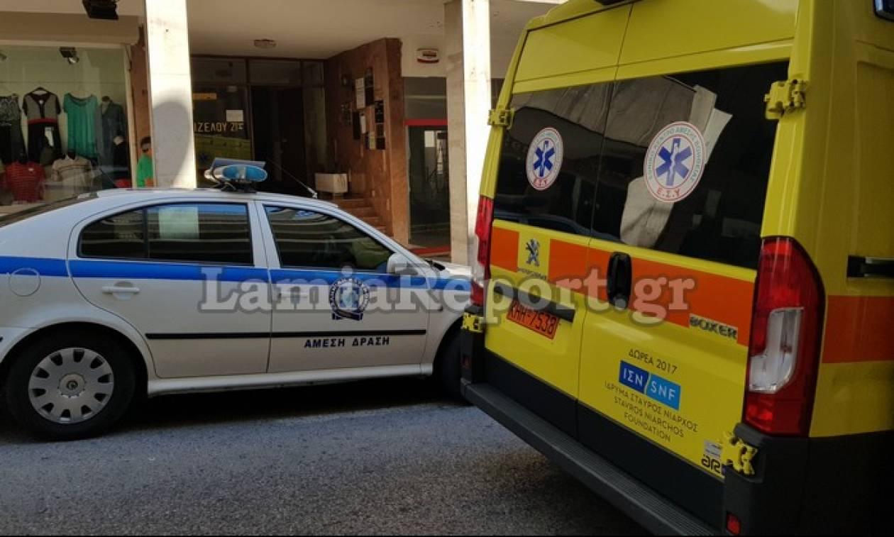 Τραγωδία στη Λαμία: Βουτιά θανάτου για άνδρα στο κέντρο της πόλης (pics)