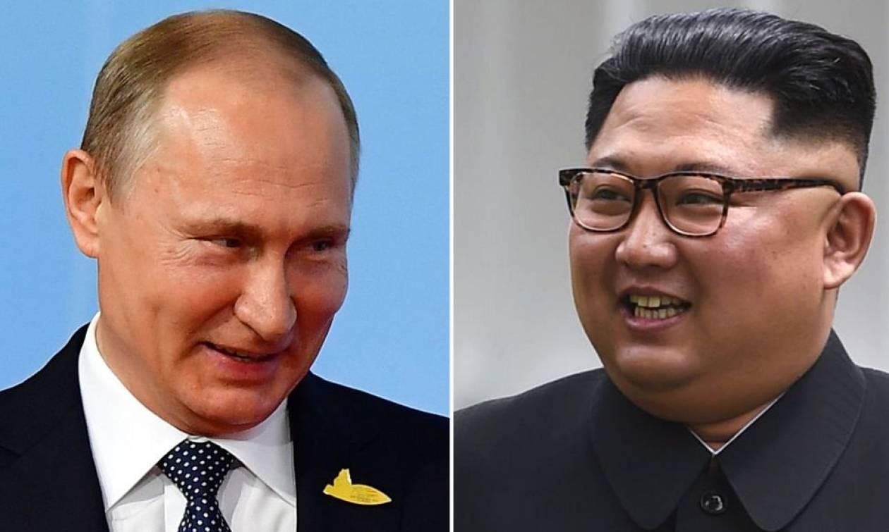 Ο Πούτιν προσκάλεσε τον Κιμ Γιονγκ Ουν στη Μόσχα