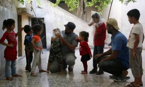 Συρία: Περισσότεροι από 30.000 άνθρωποι εκτοπίστηκαν μετά τους βομβαρδισμούς στην Ιντλίμπ