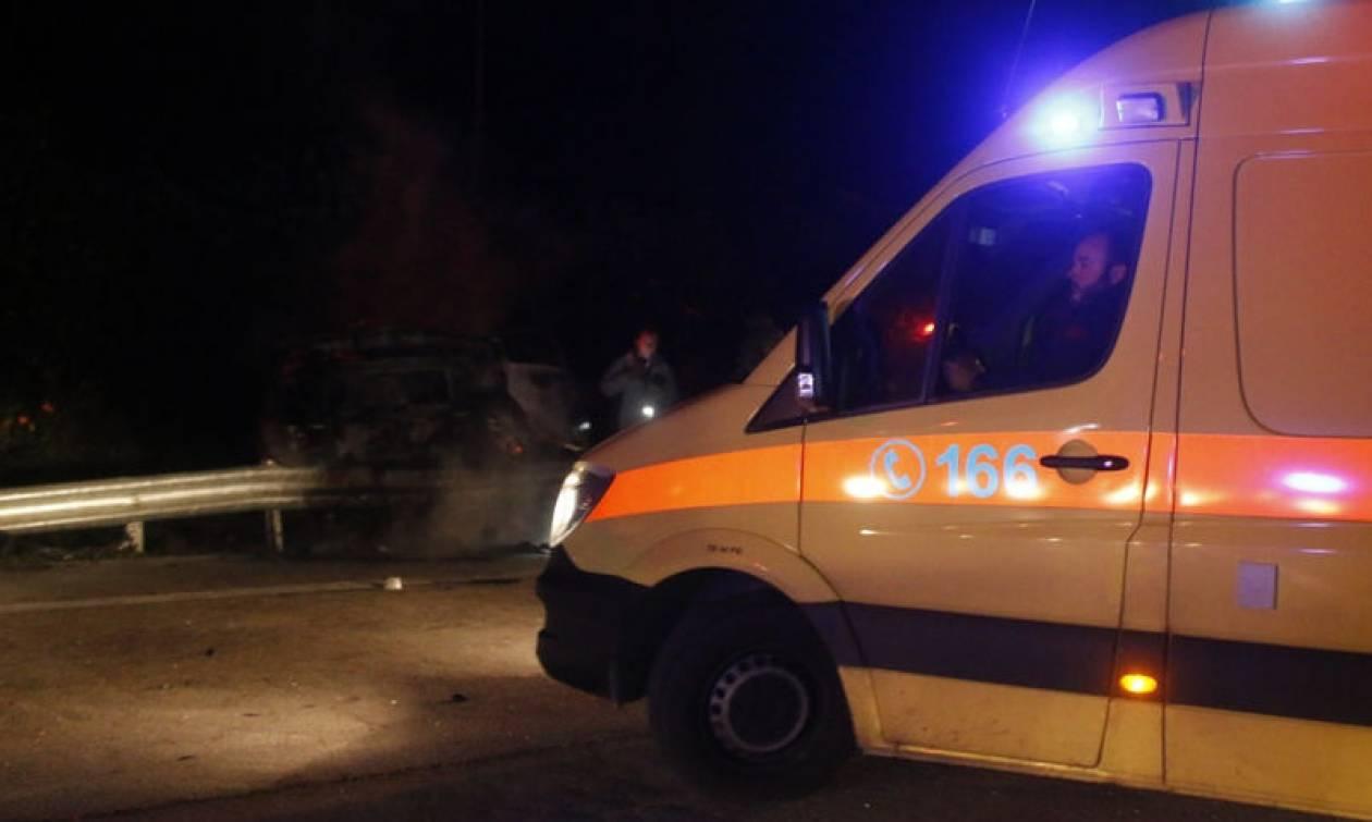 Σοβαρό τροχαίο με επτά τραυματίες στην Τρίπολη: Έπεσαν με αγροτικό σε γκρεμό