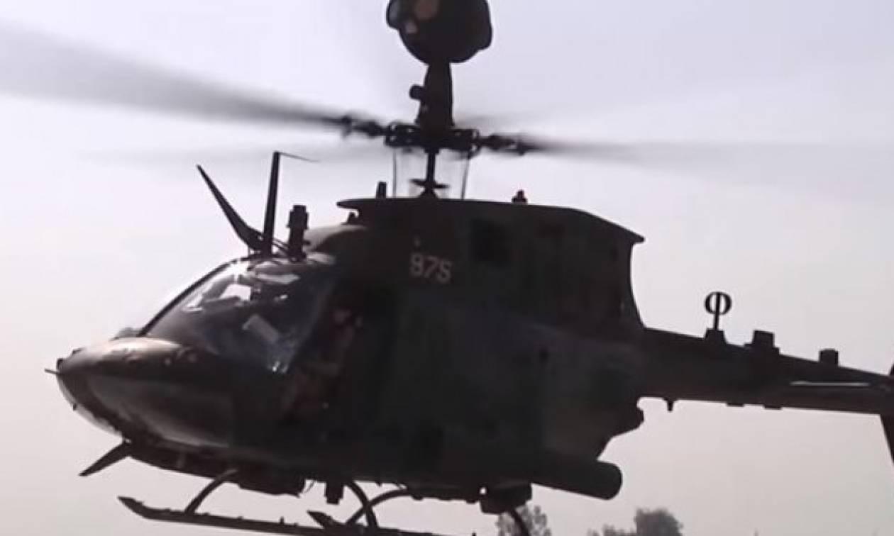 Με 70 ελικόπτερα Kiowa ενισχύονται οι ένοπλες δυνάμεις σε Αιγαίο και Έβρο