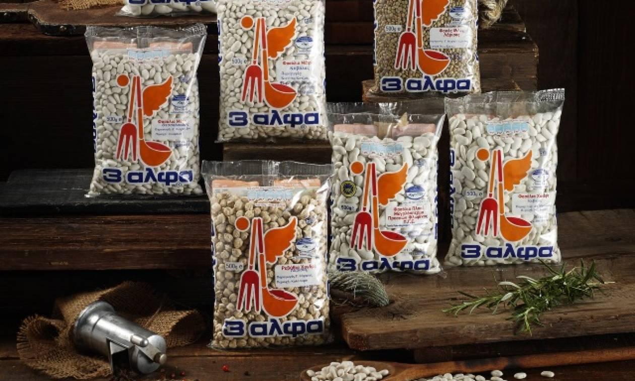Όσπρια 3αλφα δια χειρός Ελλήνων Παραγωγών