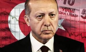 Οικονομικός όλεθρος: Σε απελπισία ο Ερντογάν - Αυξάνει τα επιτόκια για να σώσει την τουρκική λίρα