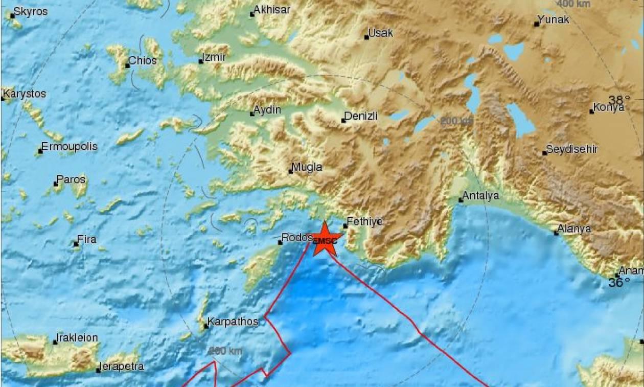 Σεισμός στην Τουρκία - Αισθητός και στα Δωδεκάνησα
