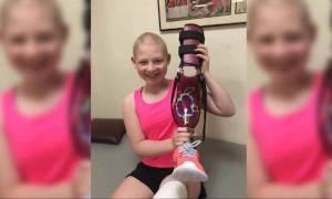 Επαναστατική επέμβαση δίνει ελπίδα σε 13χρονη που νίκησε τον καρκίνο (Vid)
