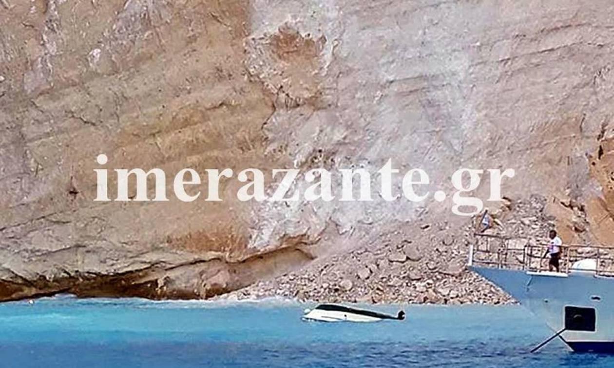 Κατολίσθηση Ναυάγιο: Συγκλονιστική μαρτυρία-«Οι βράχοι δημιούργησαν δίνη που αναποδογύρισε βάρκες»