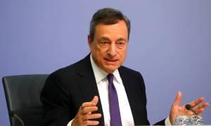 Ντράγκι: Παραμένουν οι αβεβαιότητες για την ανάπτυξη της ευρωζώνης