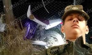 Θρήνος στην Αμαλιάδα για τον 21χρονο Γιάννη - Η βόλτα με τη μηχανή του στοίχισε τη ζωή