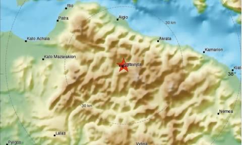 Σεισμός νοτιοδυτικά της Ακράτας