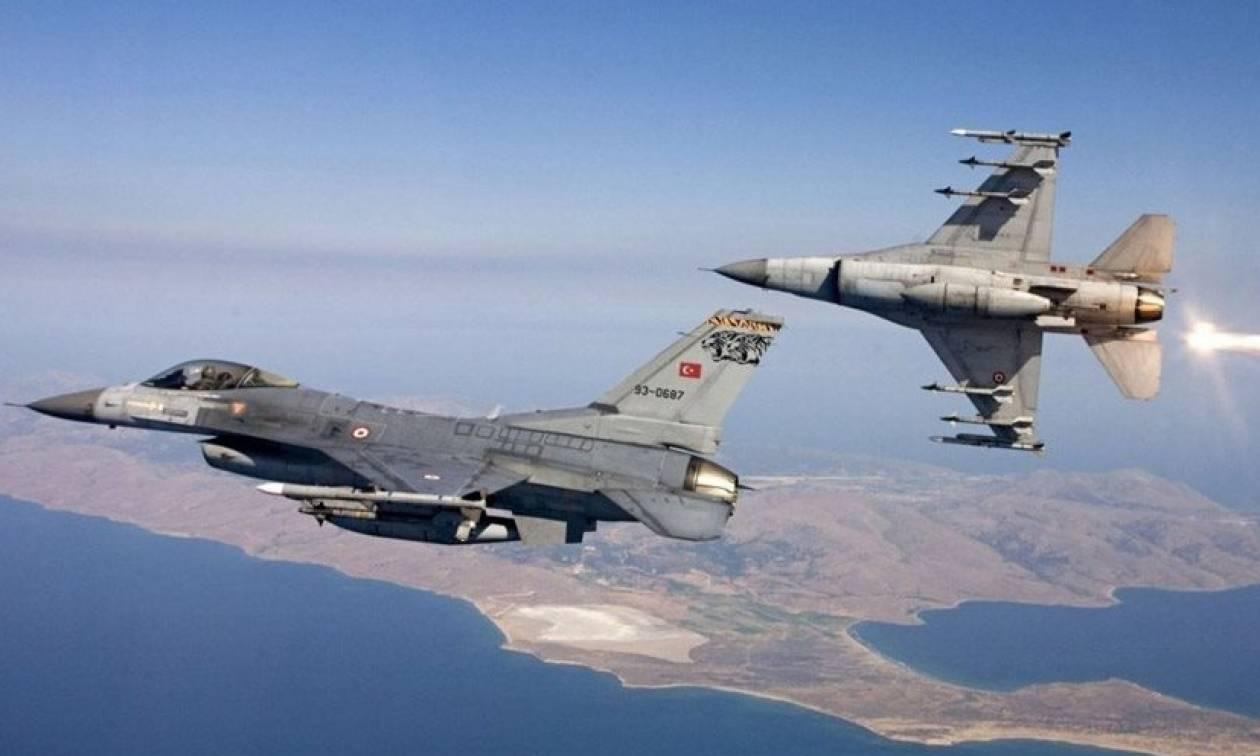 Χωρίς τέλος οι προκλήσεις στο Αιγαίο: Νέες παραβιάσεις από οπλισμένα τουρκικά μαχητικά