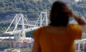 Ενός λεπτού σιγή στη Γένοβα ένα μήνα μετά τη φονική κατάρρευση της γέφυρας Μοράντι