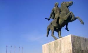 Ποιοι βανδάλισαν το μνημείο του Μ. Αλέξανδρου στη Θεσσαλονίκη