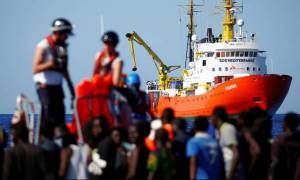 Το πλοίο Aquarius κατευθύνεται και πάλι προς την κεντρική Μεσόγειο