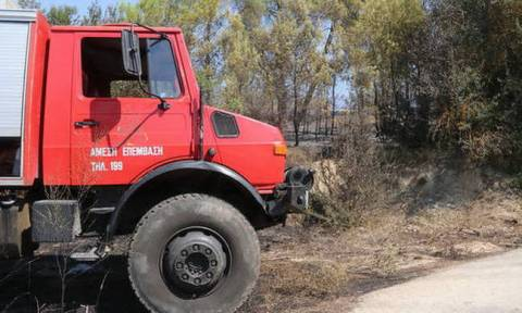 Ο χάρτης πρόβλεψης κινδύνου πυρκαγιάς για τη Δευτέρα 17/9 (pic)