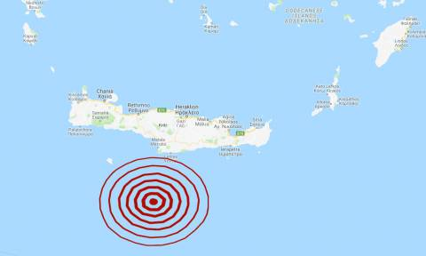 Διπλός σεισμός νότια της Κρήτης - Αισθητός σε αρκετές περιοχές (pics)