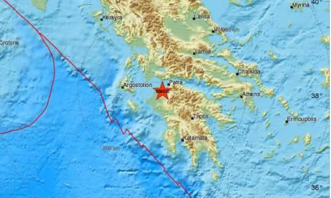Землетрясение разбудило жителей греческого города Патры