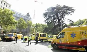 Ισπανία: Ένας νεκρός και 10 τραυματίες από κατάρρευση σκαλωσιάς σε πολυτελές ξενοδοχείο (pics)