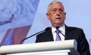 ΗΠΑ: Ο υπουργός Άμυνας Τζιμ Μάτις διαψεύδει ξανά τα σενάρια περί αποχώρησής του από την κυβέρνηση